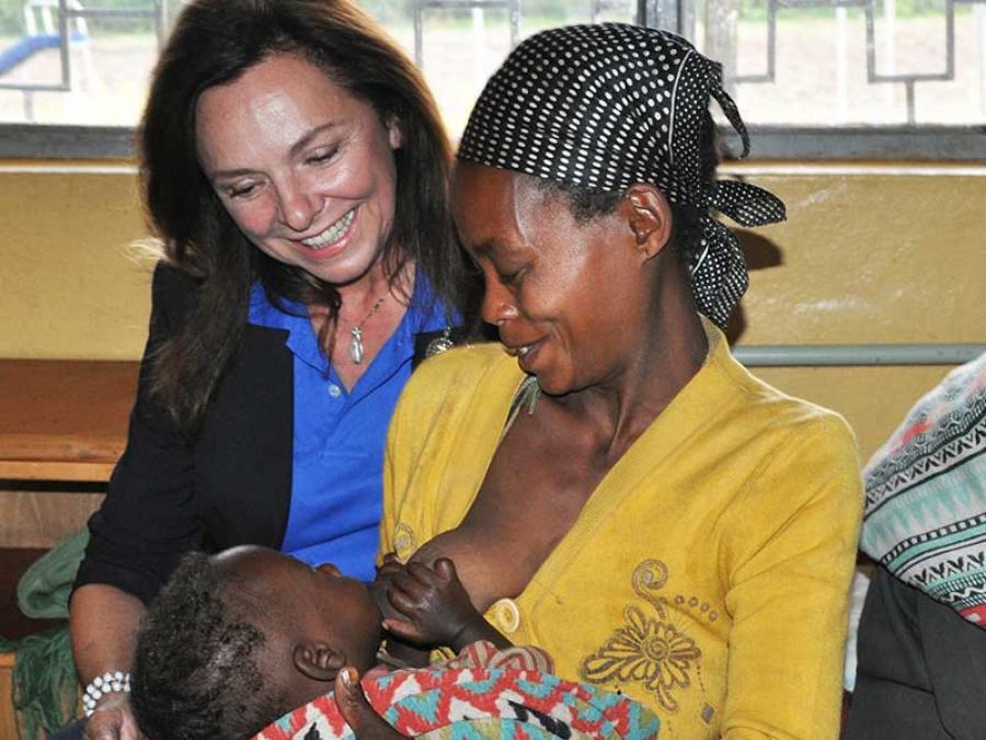 7-Gemeinsam mit Patienten in der Gesundheitsstation von Taza.