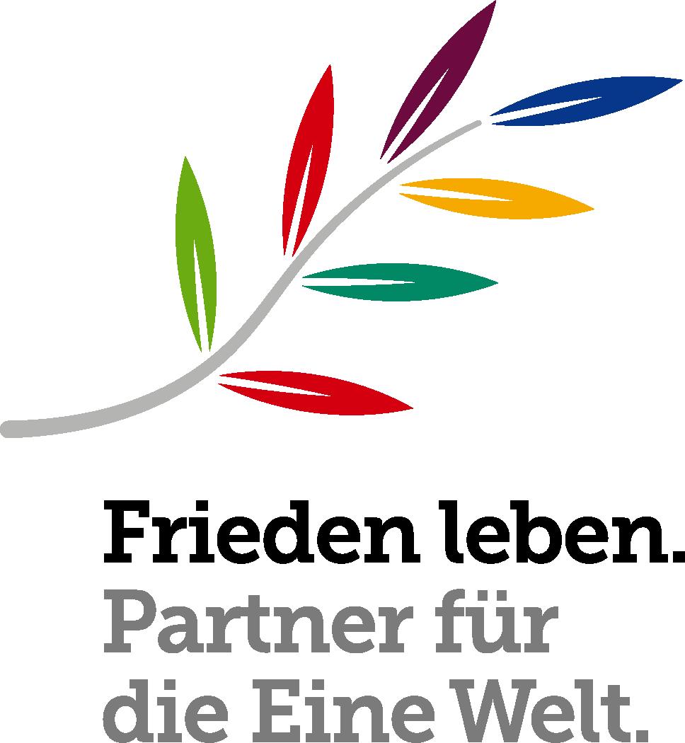 Logo Jahresthema Frieden leben