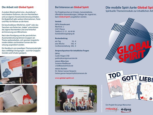 Seite Flyer Global Spirit